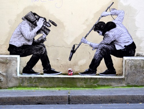 Street Art by Levalet - https://www.levalet.xyz/